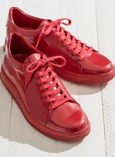 Elle Sneaker Ayakkabı Kırmızı